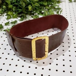 Jack Rabbit Collection Wide Waisted Leather Belt